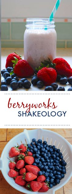 Here's one of our favorites: a shake that combines Vanilla Shakeology with strawberries, blueberries, and milk. // recipe // food // fit food // recipes // smoothie // health // nutrition // diet // 21 day fix // healthy // fitspo // fitspriation