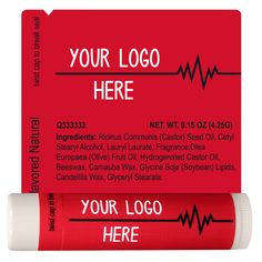 TLB2256 - Healthcare Lip Balm Template 2256 #healthcare #giveaway