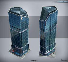 ANNO 2205 - Residence Building, Rolf Bertz on ArtStation at https://www.artstation.com/artwork/v4kPa