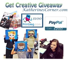 Its time for another great giveaway at Katherines Corner. Enter to win $300 in cash and prizes ♥ Easy entry open to all over 18 ( where legal). Ends March 29th.