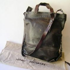 bag- henry beguelin I don't know if this is for men or women, but I like it.