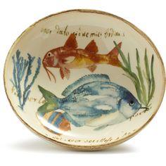 Italian Ceramic Fish Soup Bowl at Sur La Table