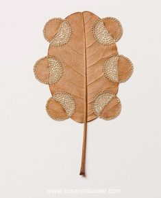 Susanna Bauer Uses Her Crocheting Skills To Transform Fallen Dried Leaves Into Elegant Works Of Art Land Art, Diy Christmas Gifts For Parents, Elegant Words, Crochet Leaves, Crochet Flowers, Dry Leaf, Crochet Art, Nature Crafts, Parent Gifts