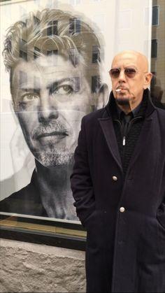"""Intervista ad Enrico Ruggeri: """"David Bowie era una persona geniale"""""""