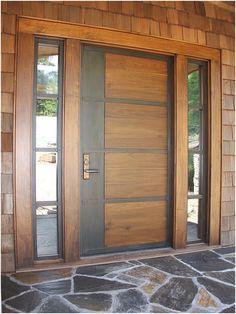 pintu rumah utama modern