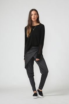 rap pant / charcoal marle by Moochi. Everyday luxury, from off-duty essentials to coveted designer pieces. Buy Now! Off Duty, Buy Now, Rap, Charcoal, Normcore, Aw 2017, Pants, Stuff To Buy, Design