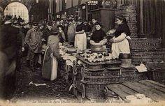 Le marché au Paris 1900