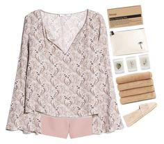 """""""dolce"""" by cnellepoms ❤ liked on Polyvore featuring Valentino, MANGO, Manebí, Elizabeth Scarlett, Tomas Maier, Linum Home Textiles, Aesop and espadrilles"""