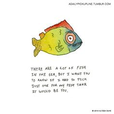 Fish pick up lines