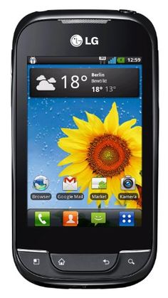 Buy LG Optimus Net P690B Unlocked GSM Phone with Android 2.3 OS, Touchscreen, 3.15MP Camera, Video, GPS, Wi-Fi, Bluetooth, FM Radio, SNS Integration, Google Applications, MP3/MP4 Player and microSD Slot - Black NEW for 186.92 USD | Reusell