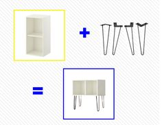 See more images from ikea hacks (with their newest products!) on domino.com