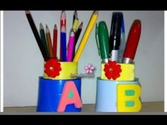 How to make a Pencil Case for Kids - Tutorials .