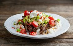 Slow Cooker Mexican Pot Roast | Framed Cooks