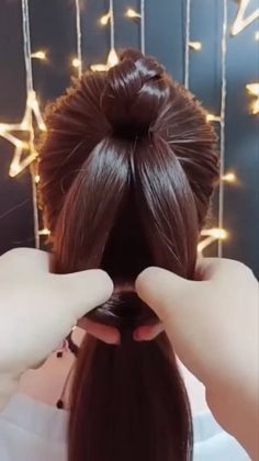 competition ideas ideas highlights ideas going out hairstyle ideas 2018 ideas no heat hairstyle ideas ideas for everyday hair ideas Easy Hairstyles For Long Hair, Pretty Hairstyles, Braided Hairstyles, Fast Hairstyles, Hairstyle Ideas, Medium Hair Styles, Curly Hair Styles, Hair Upstyles, Long Hair Video