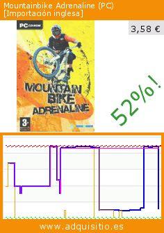 Mountainbike Adrenaline (PC) [Importación inglesa] (Videojuegos). Baja 52%! Precio actual 3,58 €, el precio anterior fue de 7,41 €. https://www.adquisitio.es/nobilis/mountainbike-adrenaline