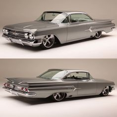 """466 Likes, 4 Comments - Muscle Cars Fan (@musclecars_fan) on Instagram: """"1960 Chevrolet Impala Facts ⬇️⬇️⬇️⬇️⬇️⬇️⬇️ suspension: airbags were used instead of hydraulics.…"""""""