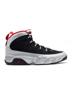 4a2f9307b4b166 Air Jordan 9 Retro Johnny Kilroy Black Metallic Platinum Gym Red 302370 012 Jordan  9 Retro