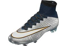 Nike Mercurial Superfly CR7 FG Soccer Cleats - Silverware