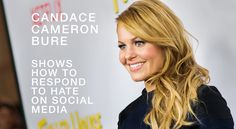 Social media can be a cruel platform when targeted by bullies. Outspoken Christian and conservative actress Candace Cameron Bure faced this when...