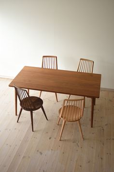 Dining Chairs, Dining Room, Dining Table, Scandinavian Style, Decoration, Chair Design, Home Projects, Home And Living, Coffee Shop