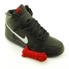Nike SB Raging Bull Dunk High...if anybody knows when these are dropping, let me know. I really want a pair!