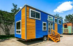 Tiny House Talk, Tiny House Plans, Laundry Nook, Bungalow Interiors, Huge Windows, Craftsman Bungalows, Tiny Houses For Sale, Vinyl Plank Flooring, Built In Wardrobe