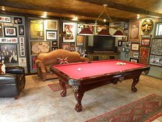 68 best Pool Table Room Ideas images on Pinterest   Billiard room     Best photos  images  and pictures gallery about pool table room ideas   pool