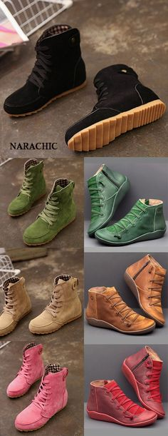 Narachic is a fast fashion brand,we are selling popular women's and men's clothing,shoes and bags and accessories! Flat Heel Boots, Heeled Boots, Bootie Boots, Shoe Boots, Shoes Sandals, Fast Fashion Brands, Flat Dress Shoes, Fall Shoes, Brown Fashion