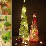 Wonderful DIY Mesh Ribbon Christmas Tree | WonderfulDIY.com