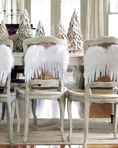 I want kitchen chairs like these