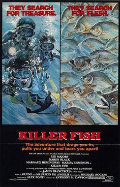 Killer Fish (1979) Killer Animals/Horror