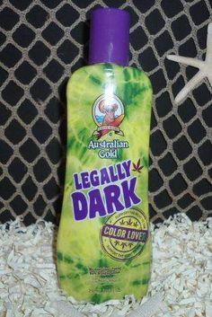 Legally Dark Bronzer Tanning Lotion - Australian Gold