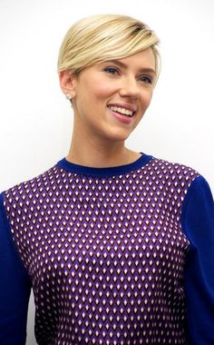 awesome Top 25 Strikingly Cool Scarlett Johansson Short Hair -- Star Mind Blowing Hairstyles