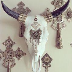 Child of Wild skull Bull Skulls, Deer Skulls, Animal Skulls, Cow Skull Decor, Cow Skull Art, Buffalo Skull, Cow Head, Skull Painting, Western Decor
