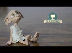 Harry Potter Dobby House Elf Cake Topper Tutorial