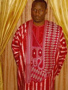 Senegambian Couture In Pictures! African Clothing For Men, African Print Fashion, Africa Fashion, African Wear, African Attire, African Dress, African Style, Costume Africain, Agbada Styles