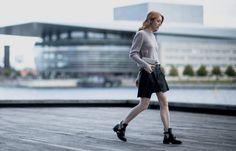 Danish Fashion blogger, Maria Jernov in Adax.