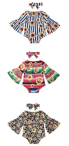 Floral Bottom Headband Swimsuits Set Bikini Bathing Suit LXXIASHI 3PCS Newborn Infant Baby Girl Tassels Halter Top