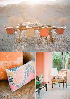 Desert colors, Rue magazine.