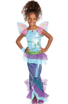 Winx Club Aisha Mermaid Deluxe Child Costume