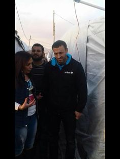 مع اليونيسيف في خيام اللاجئين ❤
