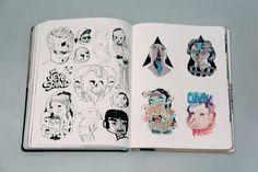 Street Sketchbook Journeys by Tristan Manco / London 2010