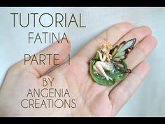 Tutorial angenioso - come creare una fatina - parte 1 LE ALI , fairy wings - YouTube