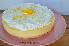 Lemon cheesecake {cold cake without oven}