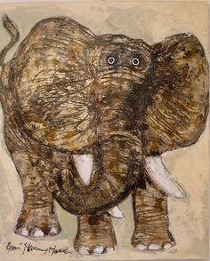 HERVE MAURY , éléphant