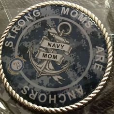 A whole new way to say Navy Mom 😍♥️ Go Navy, Navy Girl, Navy Mom, Royal Navy, Navy Party Themes, Military Send Off Party Ideas, Navy Quotes, Navy Times, Navy Corpsman