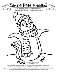 Free Penguin Coloring Page Online Printable Pages Sheets For Kids Get The Latest Images Favorite