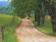 Cads Cove, Great Smoky Mountains, TN -  Google Image Result for http://wallres.saiswa.com/bg/zascalun/v/Country-Road-through-Cades-Cove-Great-Smoky-Mountains-Tennessee.jpg