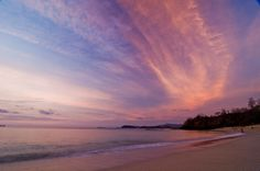Sunset at Playa Conchal, Costa Rica
