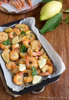 , poi trasferiteli in una ciotola capiente Shellfish Recipes, Seafood Recipes, Chicken Recipes, My Favorite Food, Favorite Recipes, Food Goals, Spaghetti, Italian Dishes, Fish And Seafood